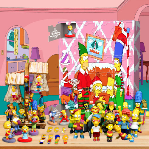 The Simpsons Advent Calendar -- 🕸The One With 24 Little Doors