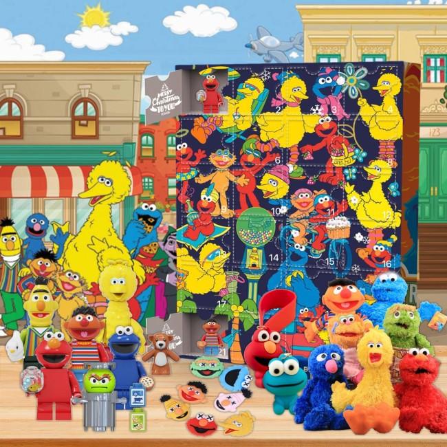 Sesame Street Advent Calendar -- 🕸The One With 24 Little Doors