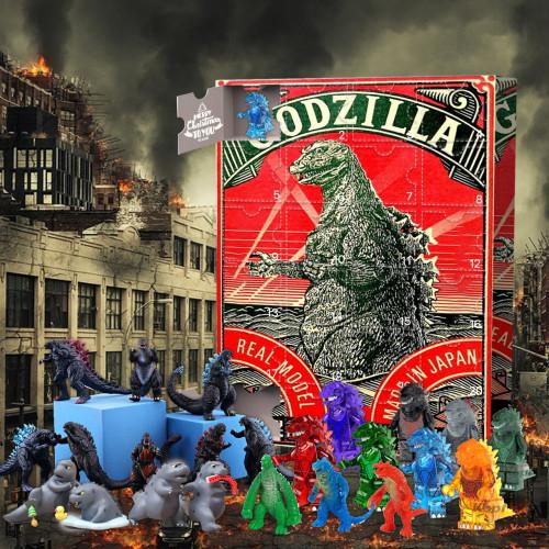 Godzilla Advent Calendar -- 🕸The One With 24 Little Doors
