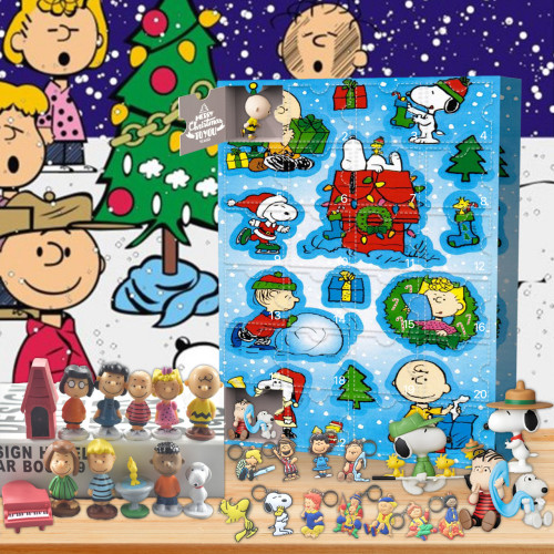Snoopy Advent Calendar -- 🕸The One With 24 Little Doors