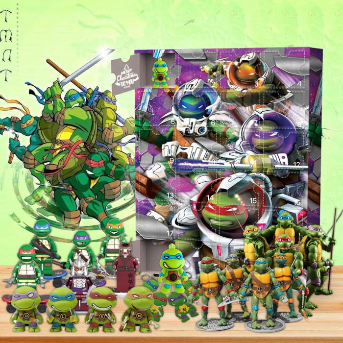 Teenage Mutant Ninja Turtles Advent Calendar -- 🕸The One With 24 Little Doors