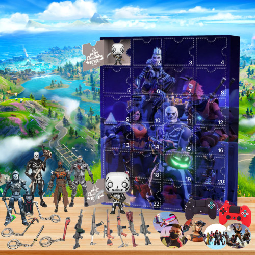 Fortnite Advent Calendar -- 🕸The One With 24 Little Doors