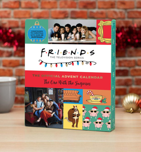 Friends Advent Calendar-The One With 24 Little Doors