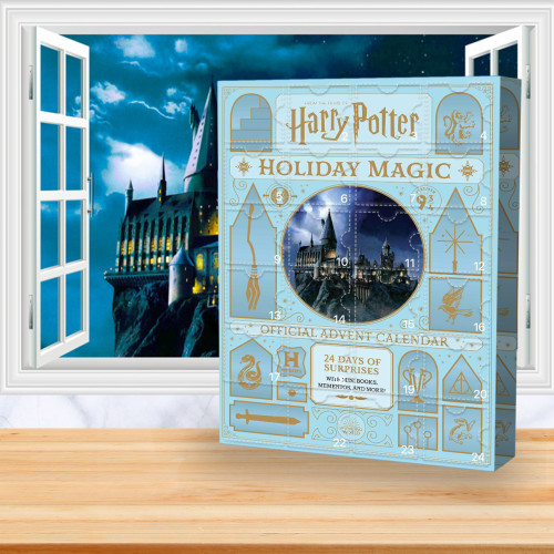 Harry Potter Advent Calendar -- The One With 24 Little Doors