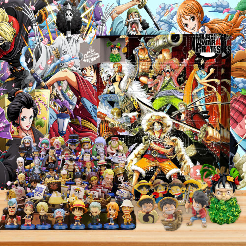 One Piece Advent Calendar -- The One With 24 Gifts