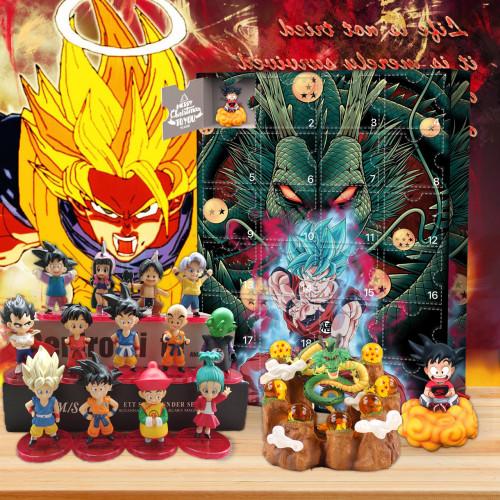 Dragon Ball Advent Calendar -- 🕸The One With 24 Little Doors