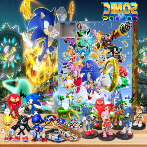 Sonic the Hedgehog Advent Calendar -- The One With 24 Gifts