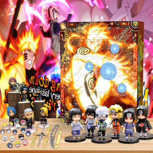 Naruto Advent Calendar -- The One With 24 Gifts