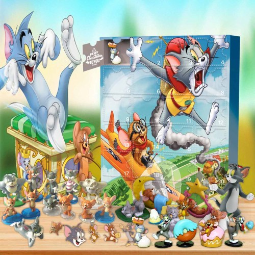 Tom And Jerry Advent Calendar -- The One With 24 Gifts
