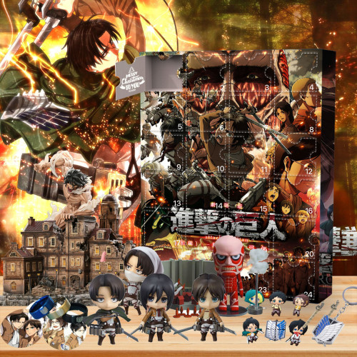 Attack on Titan Advent Calendar -- The One With 24 Gifts