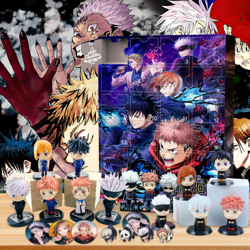 Jujutsu Kaisen Advent Calendar -- The One With 24 Gifts