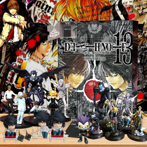 Death Note Advent Calendar -- The One With 24 Gifts