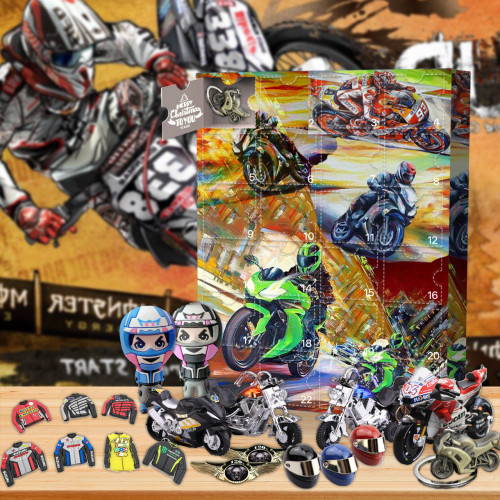 Motorcycle Advent Calendar -- The One With 24 Gifts