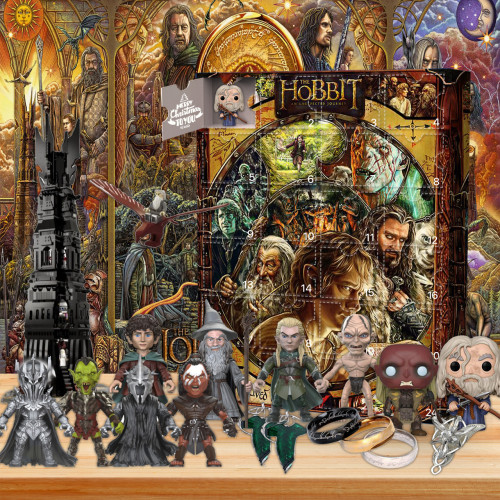 The Hobbit Advent Calendar -- The One With 24 Gifts