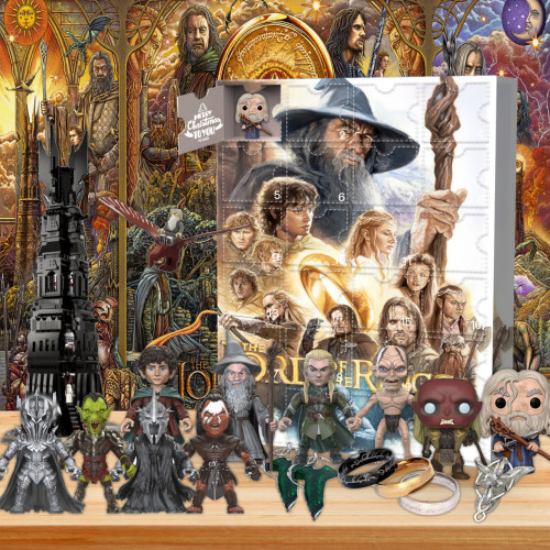 The Lord of the Rings Advent Calendar -- The One With 24 Gifts