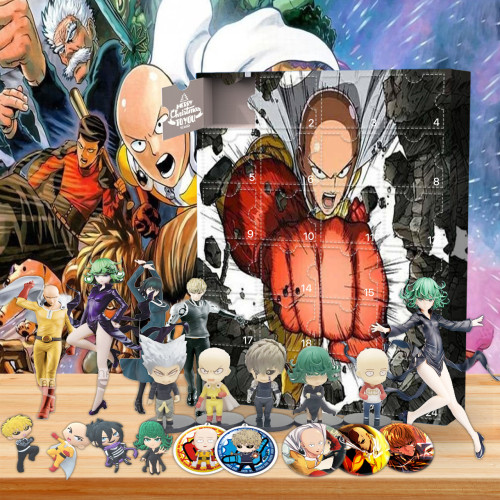 One Punch Man Advent Calendar -- The One With 24 Gifts