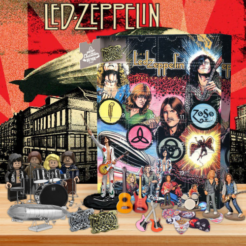 Led Zeppelin Advent Calendar -- The One With 24 Gifts