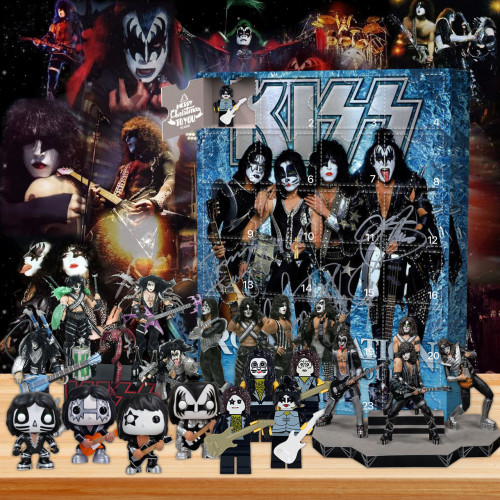 KISS Signature Advent Calendar -- The One With 24 Gifts