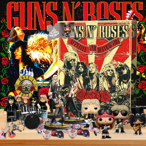 Guns N' Roses Advent Calendar -- The One With 24 Gifts