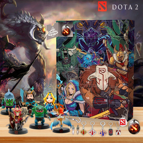 Dota 2 Advent Calend🌌 -✨The One With 24 Little Doors