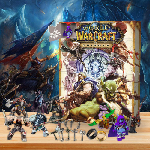 World of Warcraft Advent Calend🌌 -✨The One With 24 Little Doors
