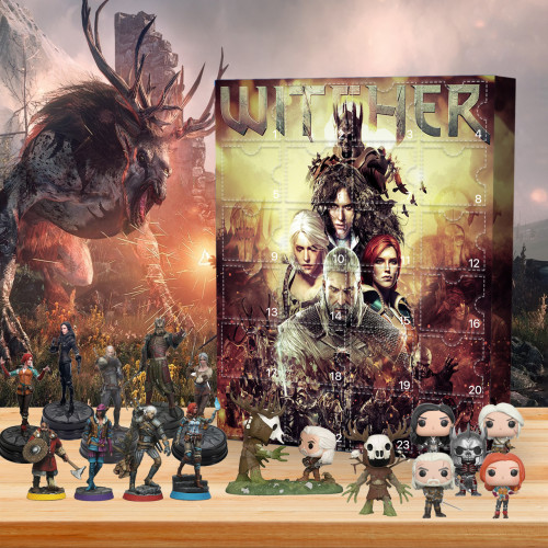 The Witcher Advent Calendar -- 🎁Bring 24 gifts