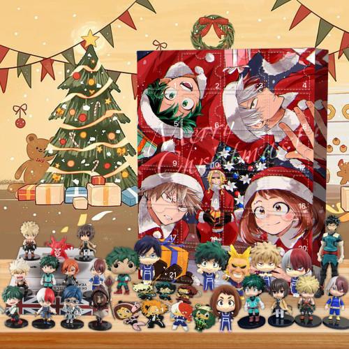 My Hero Academia Advent Calendar -- 🎁Bring 24 gifts