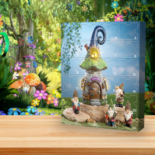 🎄Garden Gnome Advent Calendar -- 🎁Bring 24 gifts