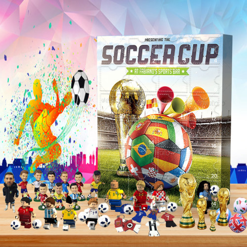 ⚽Soccer Cup  Advent Calendar -- 🎁The One With 24 Gifts
