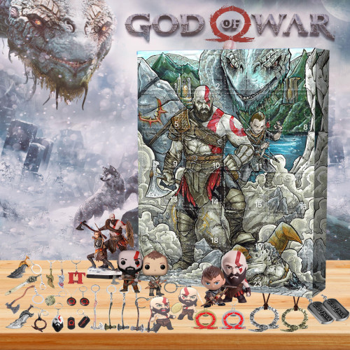 God of War Advent Calendar -- 🎁Bring 24 gifts