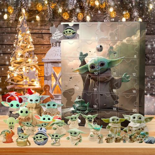 Baby Yoda Advent Calendar -- 🎁Bring 24 gifts