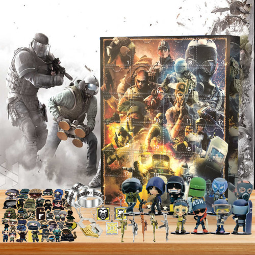 🤿Rainbow Six Siege Advent Calendar -- 🎁The One With 24 Gifts