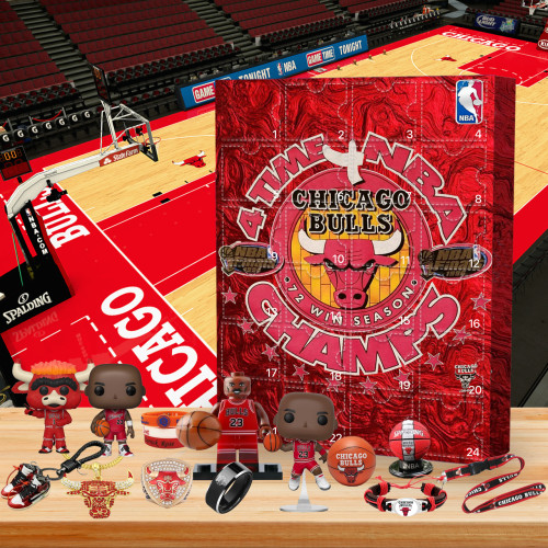 🏀Chicago Bull Advent Calendar -- 🎁The One With 24 Gifts