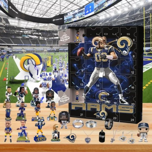 🏈Los Angles Rams  Advent Calendar🎁 The best gift choice for fans