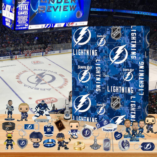 🏒Tampa Bay Lightning  Advent Calendar🎁 The best gift choice for fans