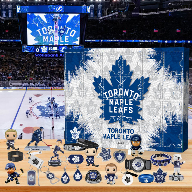 🏒Toronto Maple Leafs  Advent Calendar🎁 The best gift choice for fans