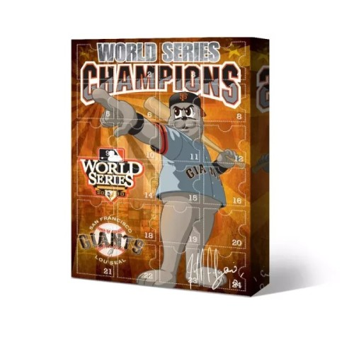 ⚾MLB San Francisco Giants baseball-themed Advent calendar box, 🎁 contains 24 gifts, open a surprise every day, every day