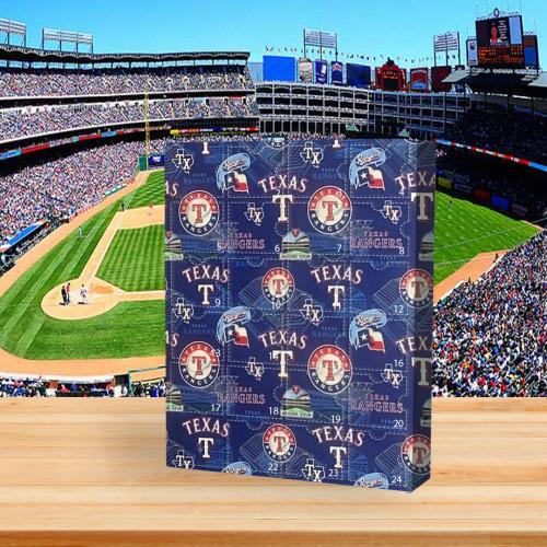 ⚾MLB  Advent Calendar - Texas Rangers🎁 The best gift choice for fans