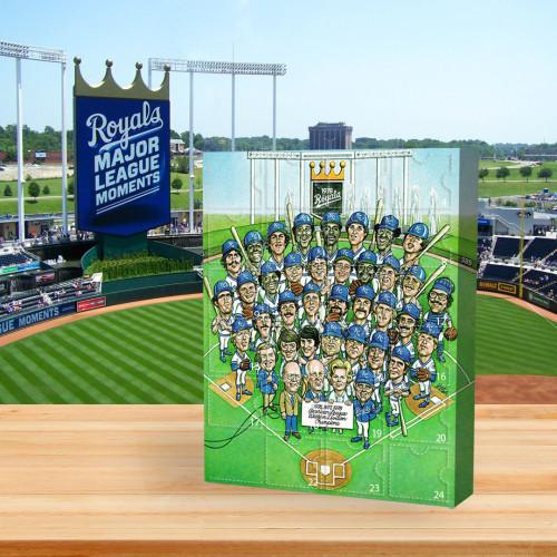 ⚾MLB  Advent Calendar - Kansas City Royals🎁 The best gift choice for fans