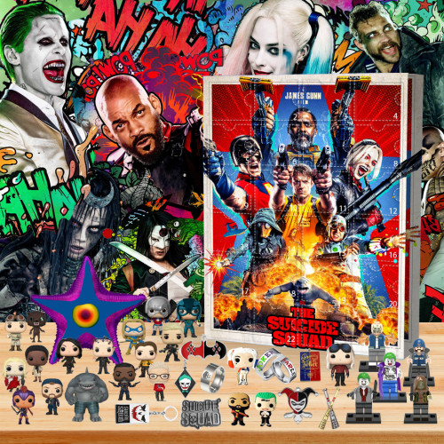 Suicide Squad Advent Calendar -- The One With 24 Gifts