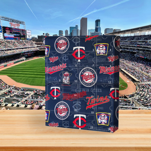 ⚾MLB Minnesota Twins  Advent Calendar🎁 The best gift choice for fans