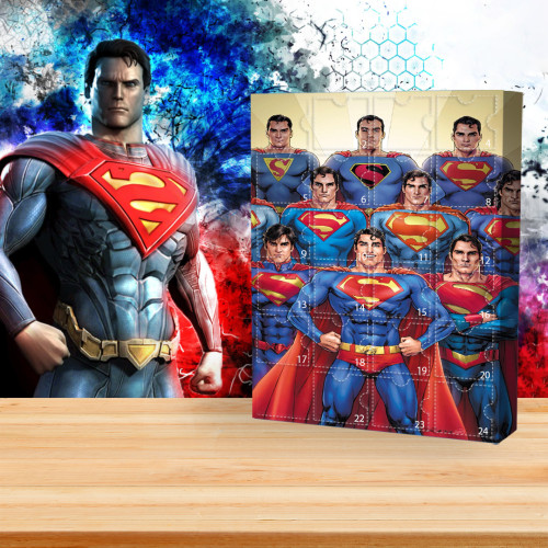 🦸♂Limited Edition Advent Calendar - Superman🎁 The best gift choice for fans