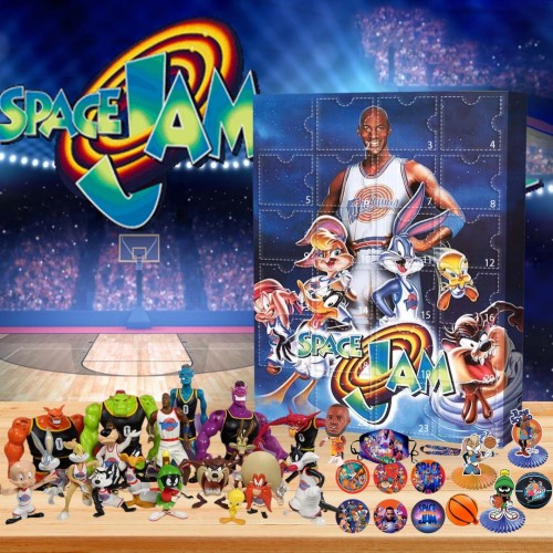 🏀Limited Edition  Advent Calendar - Space Jam🎁 The best gift choice for fans