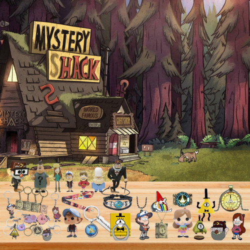 👾Limited Edition  Advent Calendar - Gravity Falls🎁 The best gift choice for fans