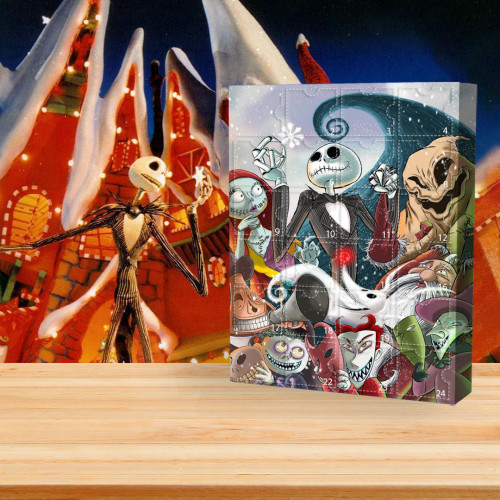 👾Limited Edition  Advent Calendar - The Nightmare Before Christmas🎁 The best gift choice for fans