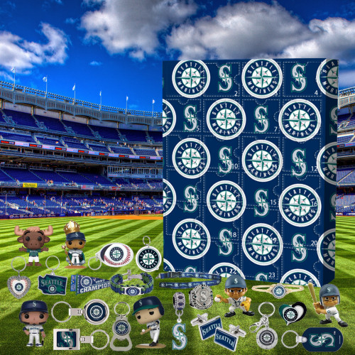 ⚾MLB  Advent Calendar - Seattle Mariners🎁 The best gift choice for fans