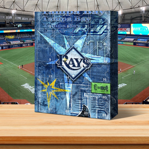 ⚾One of my favorite teams (Tampa Bay Rays) - Advent Calendar