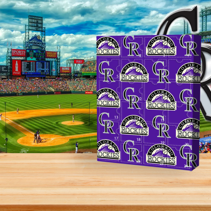 ⚾MLB  Advent Calendar - Colorado Rockies🎁 The best gift choice for fans
