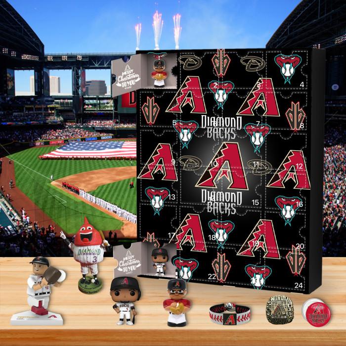⚾MLB  Advent Calendar - Arizona Diamondbacks🎁 The best gift choice for fans