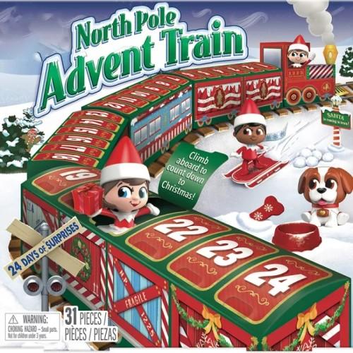New Gift Ideas(Surprise Calendar)-Christmas 24 Days Countdown Train